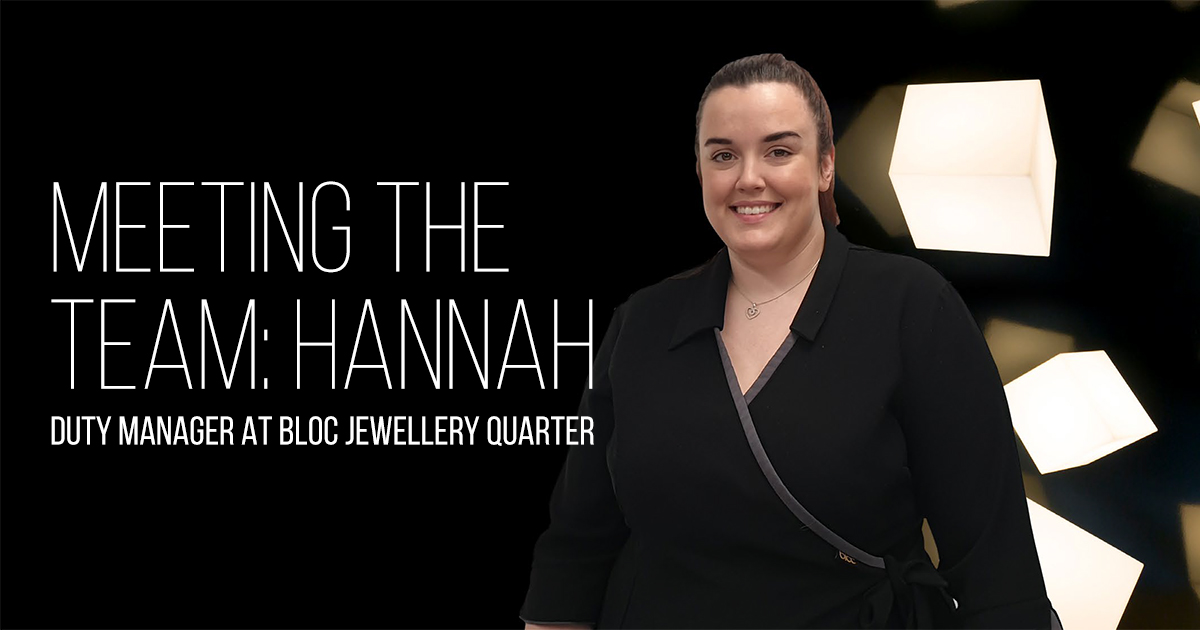 Meeting The Team: Hannah