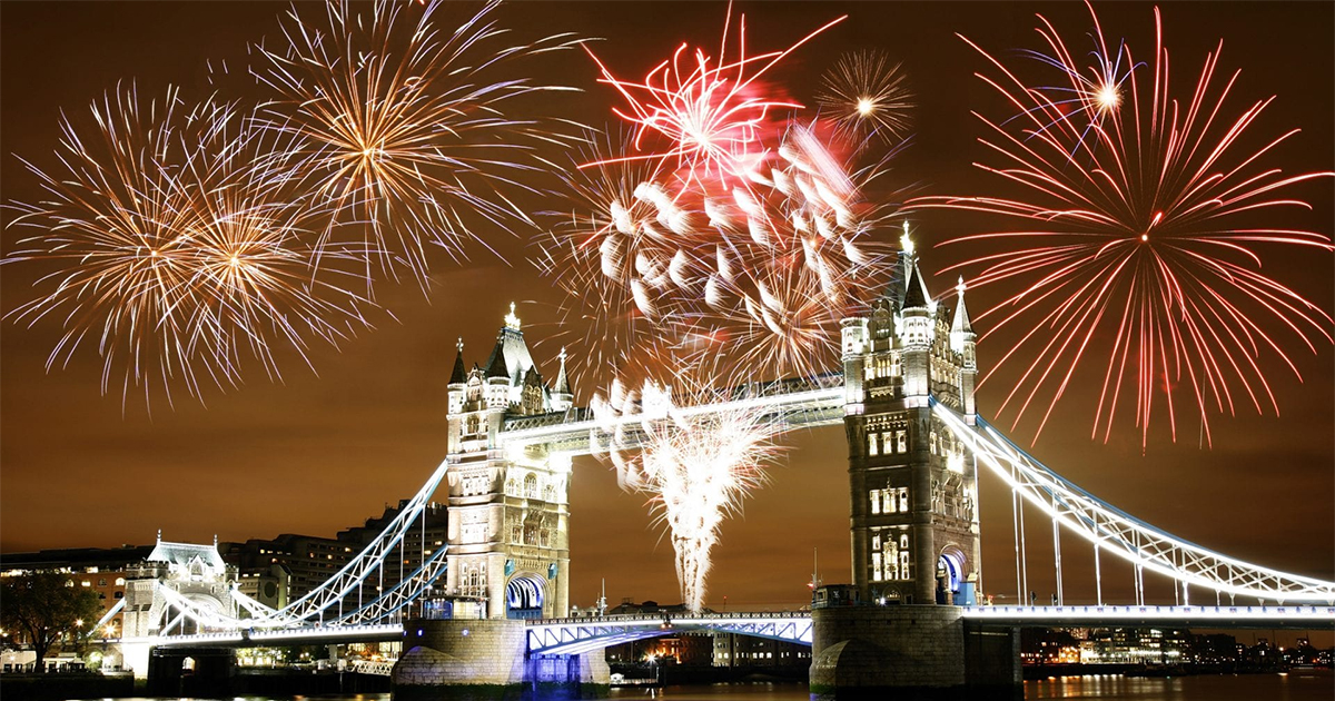 Fireworks in London | Guy Fawkes Night 2019