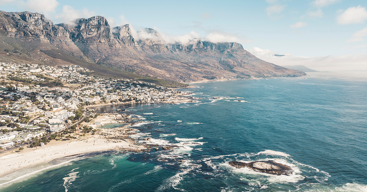 One night in heaven. 48 hours in Cape Town.