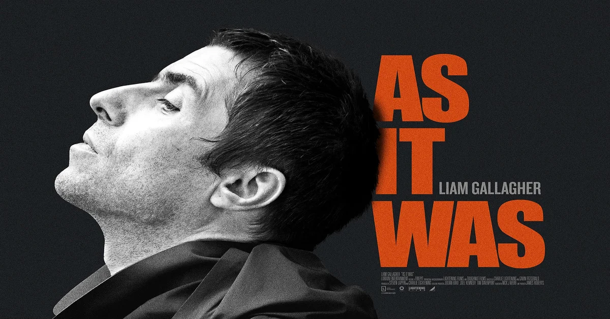 Liam Gallagher: As It Was - VIP Cinema Offer