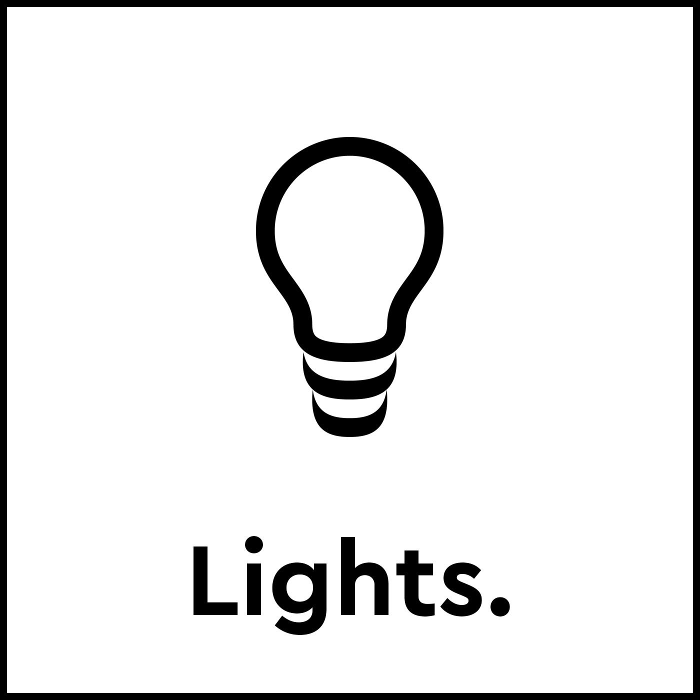 Bloc Smart Room Controls - Lights